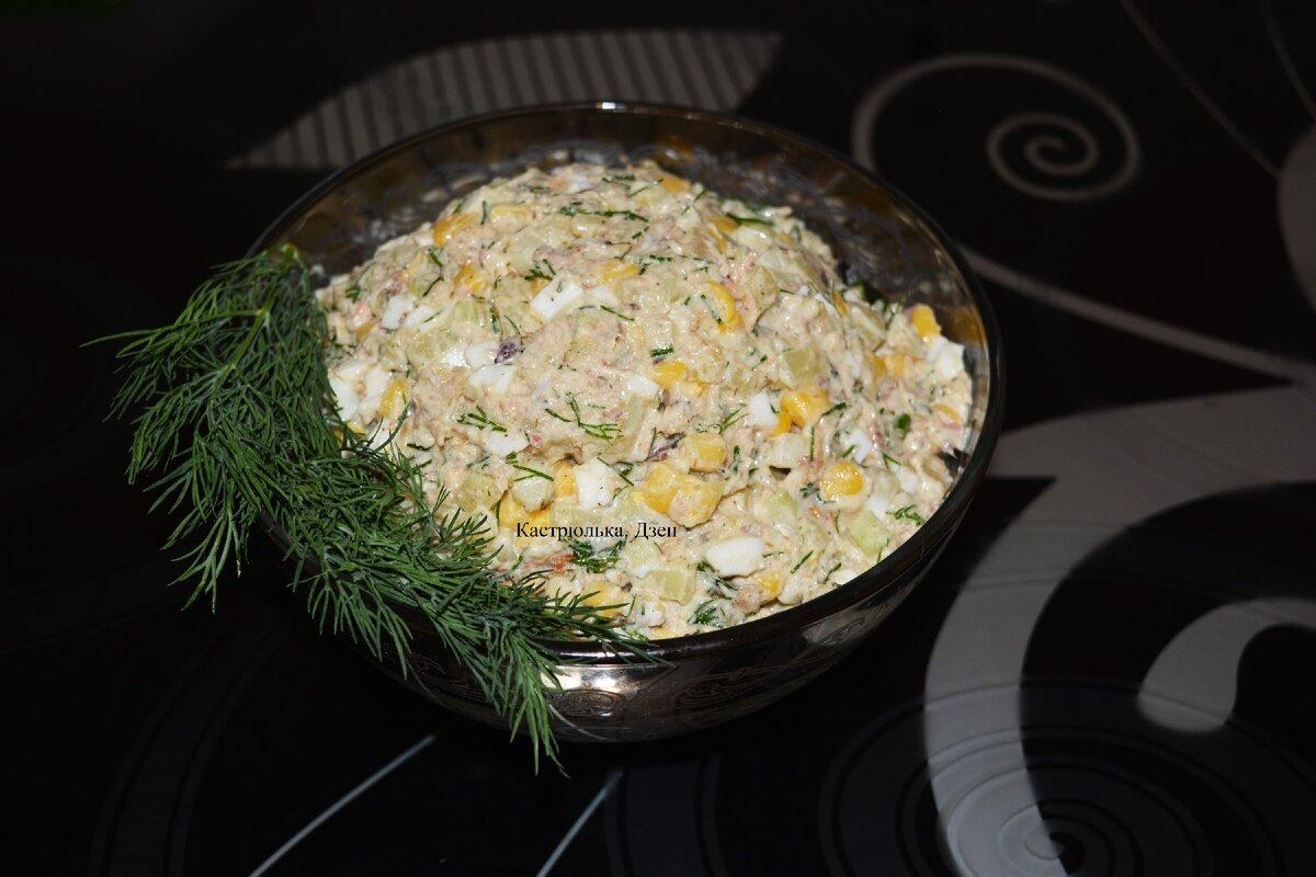 Приготовила не совсем обычным способом салат «Мимоза» и попутно протестировала свой новый кухонный гаджет
